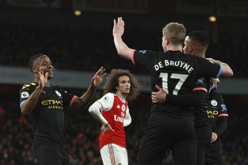EPL | Arsenal 0-3 Manchester City: Peerless Kevin De Bruyne Inspires Emphatic Victory