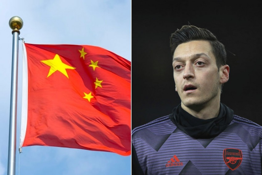 Politics Vs Sports: China Plays Hardball, State Broadcaster Pulls Arsenal Match After Mesut Ozil's Uighur Comment