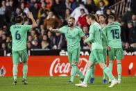 La Liga: Valencia 1-1 Real Madrid: Karim Benzema Rescues Los Blancos At The Death