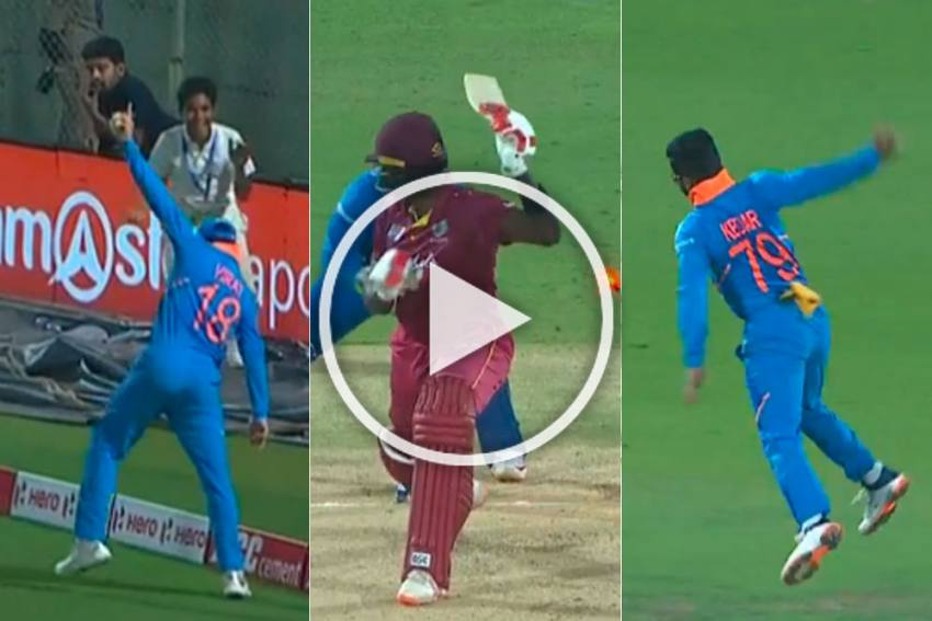 IND Vs WI, 2nd ODI: Mohammed Shami's Loss Becomes Kuldeep Yadav's Gain, Watch Indian Cricket's Historic Moment - VIDEO