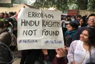 'Jab Hindu Muslim Razi': Protesters With Satirical Placards Grab Eyeballs At Anti-Citizenship Act Rallies