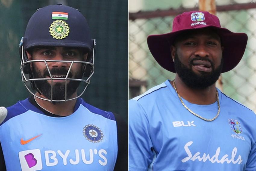 IND Vs WI, 2nd ODI: Viray Kohli, Kieron Pollard Make Unwanted History