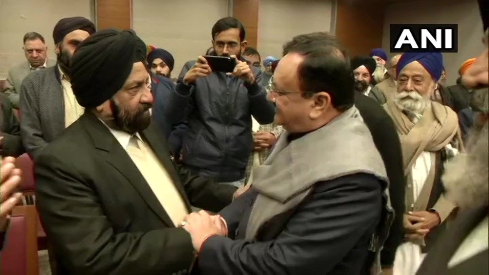 'CAA, NRC Will Be Implemented': J.P. Nadda Tells Afghan Sikh Refugees As Protests Rock Delhi