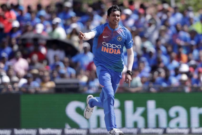 India Vs West Indies, 3rd ODI: Navdeep Saini Replaces Injured Deepak Chahar