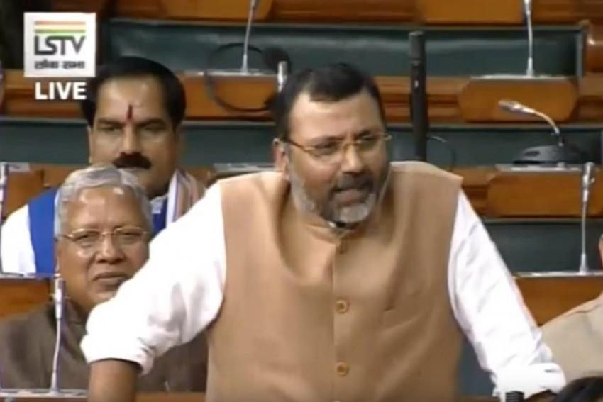 GDP Is No 'Bible, Ramayana Or Mahabharata' To Judge Economy: BJP MP Nishikant Dubey