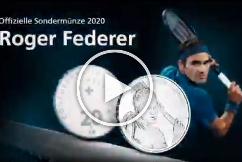 Roger Federer To Become First Living Person To Be Celebrated On Swiss Coins - VIDEO