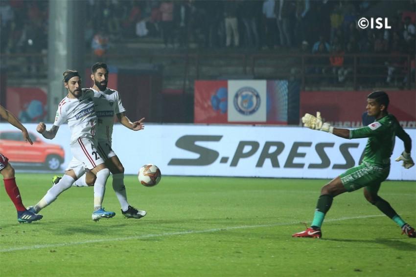 ISL: NorthEast United Secure Late Draw Against Jamshedpur FC