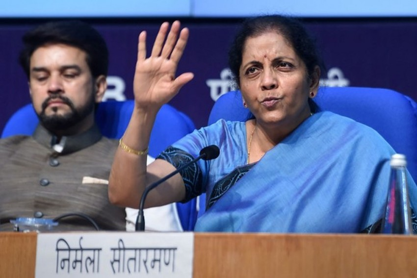 Better To Seek Answers Than Spreading One's Own Impression: Sitharaman On Shah-Bajaj Exchange