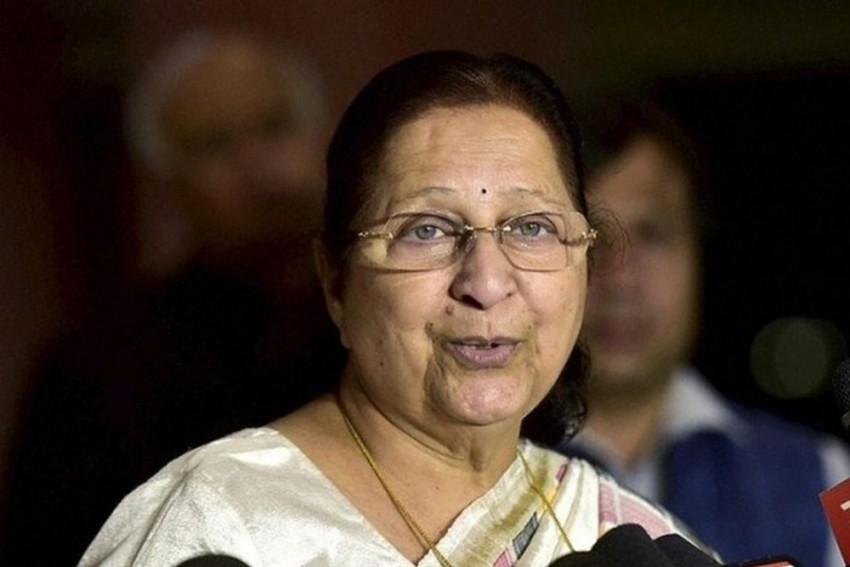 Asked Congress Leaders To Raise Issues Under BJP Govt In MP: Sumitra Mahajan