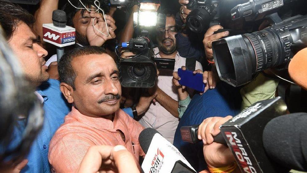 Expelled BJP MLA Kuldeep Sengar Sentenced To Life In Unnao Rape Case