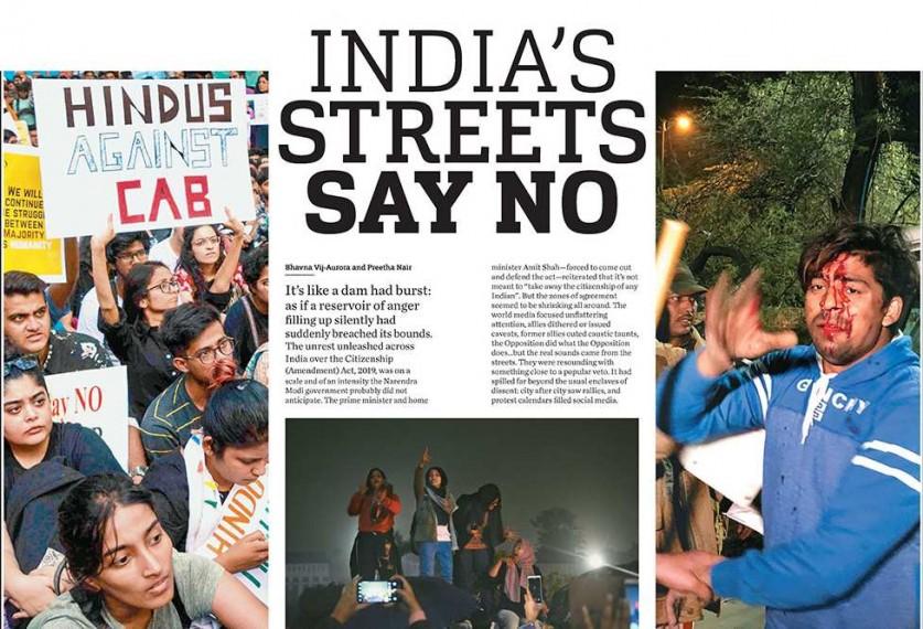 Streets Say No: Anti-CAA Protests Shake India