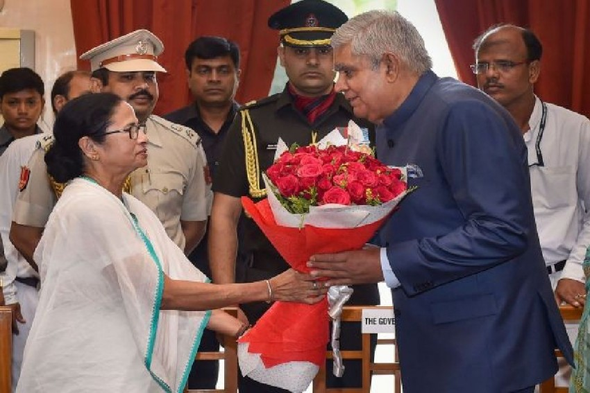 'Unconstitutional...Surprised': Miffed With Mamata Banerjee, West Bengal Governor Shoots Two Letters