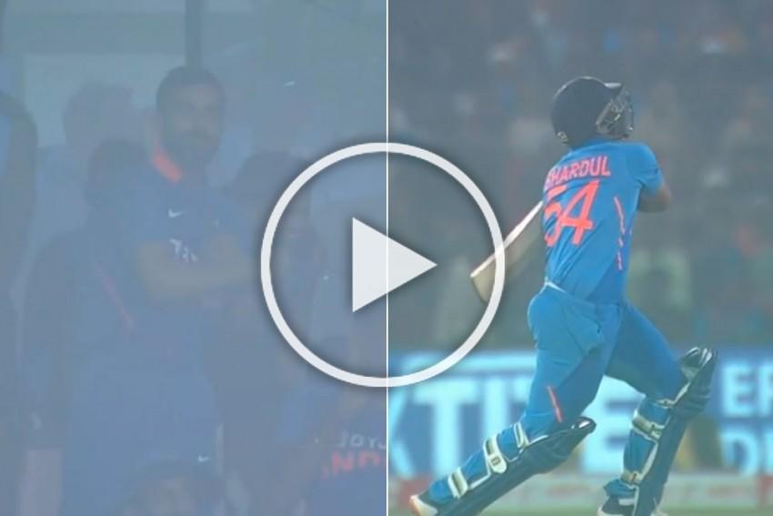 IND Vs WI, 3rd ODI: Shardul Thakur's Six-Ball 'Little Epic' Knock Fires Up Virat Kohli Like Never Before - WATCH