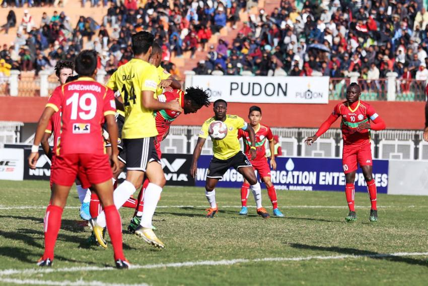 I-League 2019-20: TRAU FC Earn Maiden Point After Draw Vs Real Kashmir