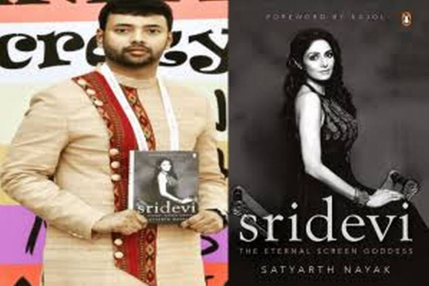 Satyarth Nayak On His Book, 'The Eternal Screen Goddess', A Novel Based On The Legendary Actress, Sridevi