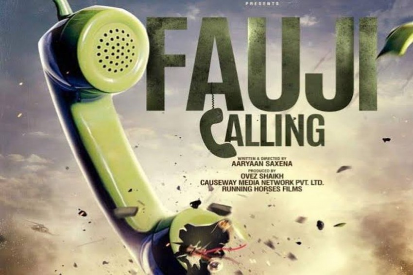 The Intriguing Motion Poster Of The Upcoming Film Fauji Calling Is Out Now!