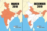 With Jharkhand Loss, BJP's Footprint On Indian Map Reduces To Half