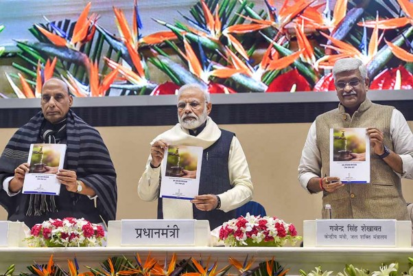 PM Modi Launches Atal Jal Yojana, Urges Farmers To Go For Less Water Intensive Crops