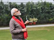'Couldn't See Sun Due To Cloud Cover': PM Modi Witnesses Eclipse On Live Stream
