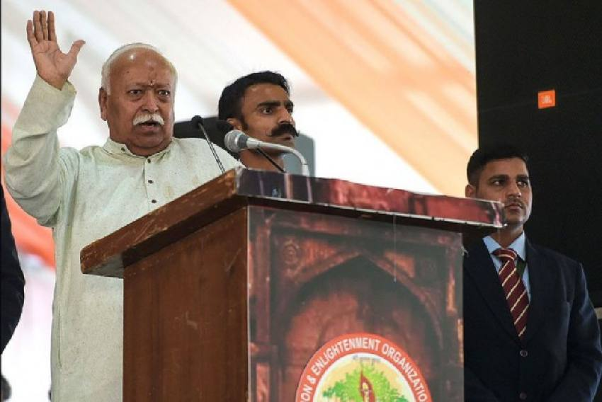 India Has Traditionally Been <em>Hindutvavadi</em>: RSS Chief Mohan Bhagwat