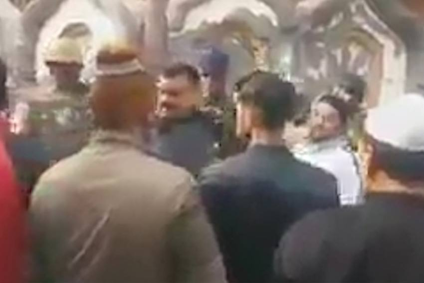 UP Cop Tells Meerut Locals To Go To Pakistan, Caught On Camera