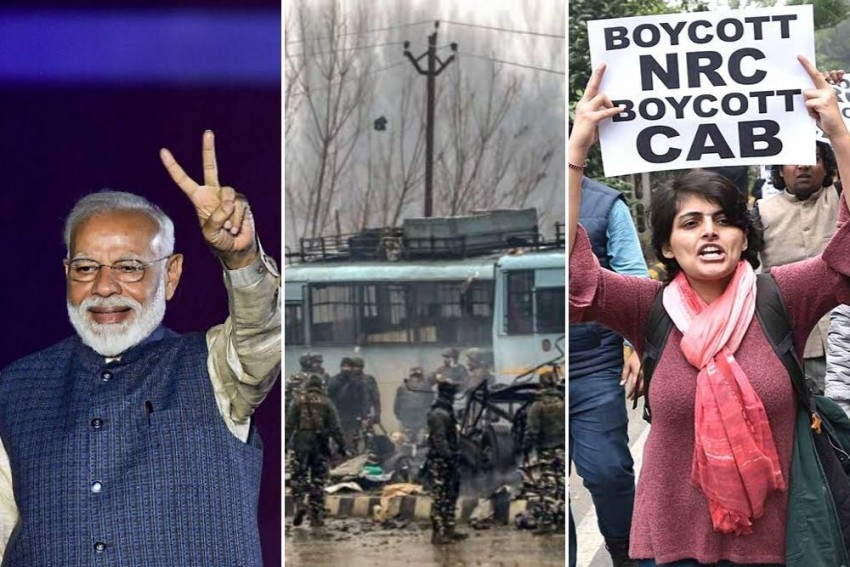 From Modi's Landslide Victory To Protests Over Citizenship Law: India In 2019