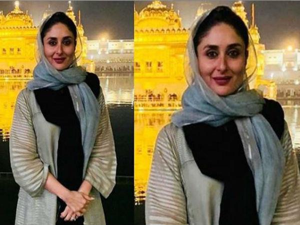 Kareena Kapoor Khan Seeks Blessings At The Golden Temple Ahead Of Laal Singh Chaddha's Shoot