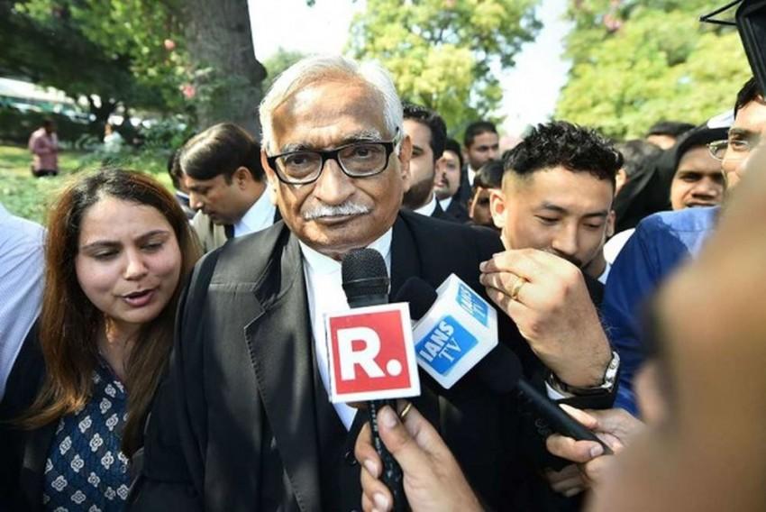 Rajeev Dhavan, Lawyer Who Represented Muslim Side, Sacked From Ayodhya Case