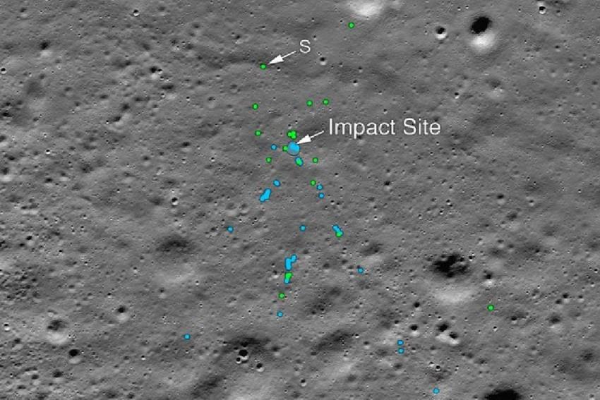 NASA Finds Debris Of Crashed Vikram Lander On Moon With Indian Techie's Help