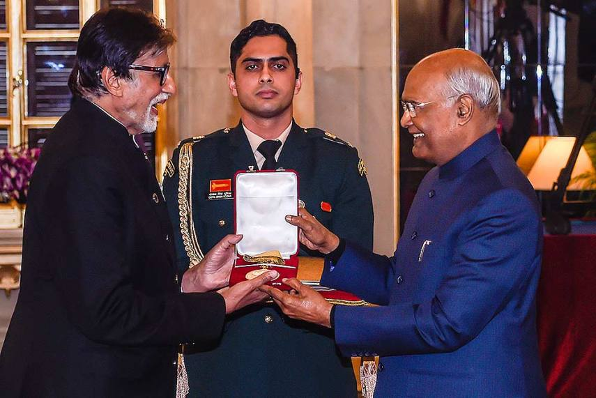 Proud Of Country, Film Industry: Amitabh Bachchan On Receiving ...