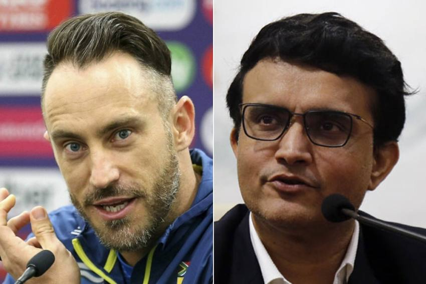 Sourav Ganguly's 'Super Series' Faces Another Critic, Faf Du Plessis Advises BCCI Boss To Focus On Something Else