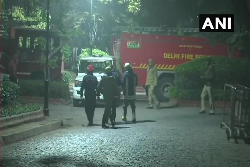 Minor Fire Near PM Modi's Residence In New Delhi, Doused
