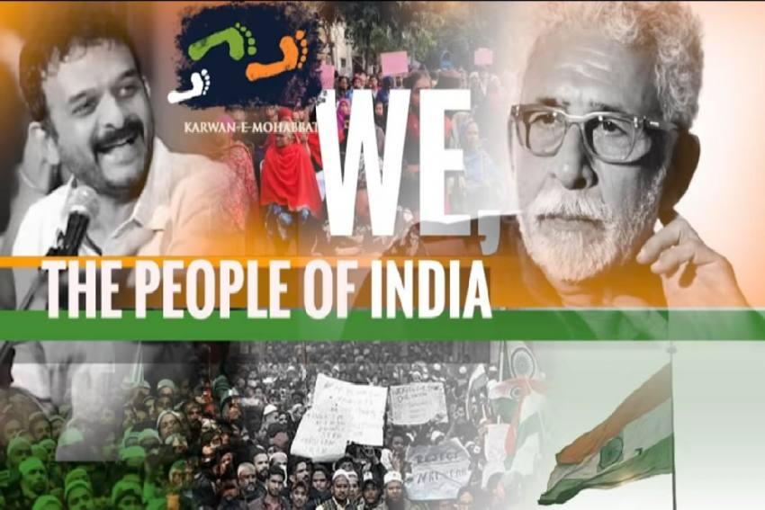 Watch: 'We The People Of India...,' Recites Naseeruddin Shah; TM Krishna Sings National Anthem