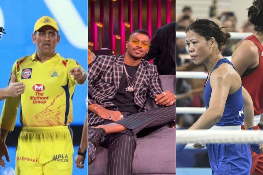 MS Dhoni, Mary Kom Losing Their Cool To Hardik Pandya's Dirty Talk - The Worst Of Indian Sports In 2019