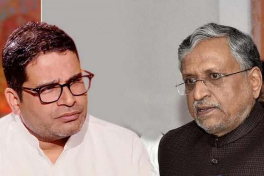 Prashant Kishor, Sushil Kumar Modi Lock Horns Over Seat-Sharing Formula, Nitish Kumar Intervenes