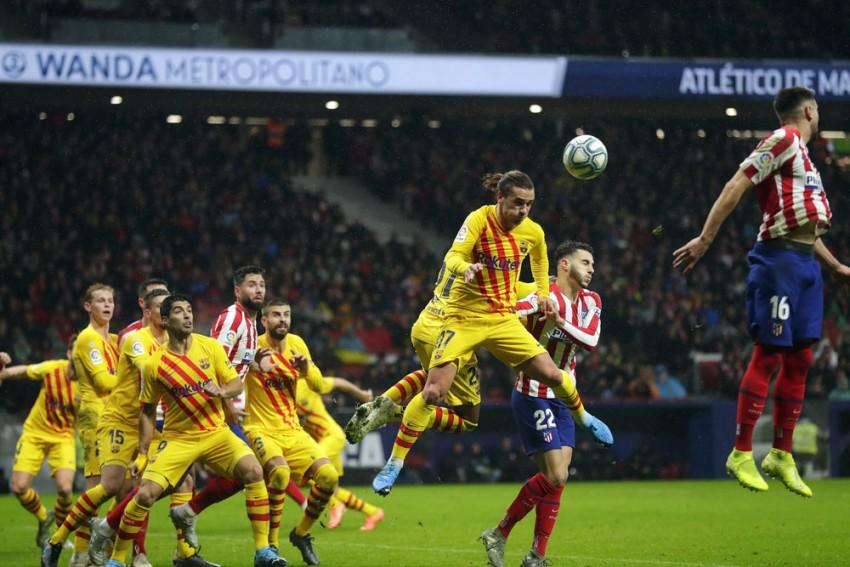 Atletico Madrid Face Punishment For 'Antoine Griezmann Death' Chants