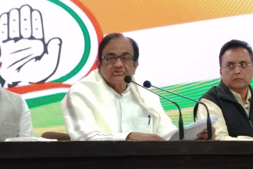 Modi Government Incompetent Manager Of Economy: P Chidambaram