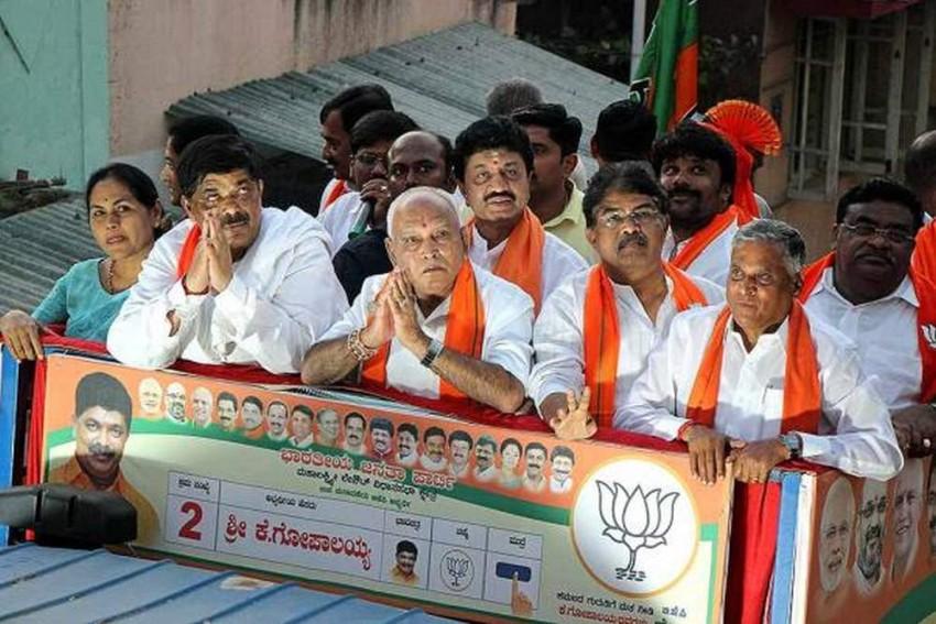 Voting Underway In 15 Assembly Seats In Karnataka, BJP Needs 6 To Retain Majority