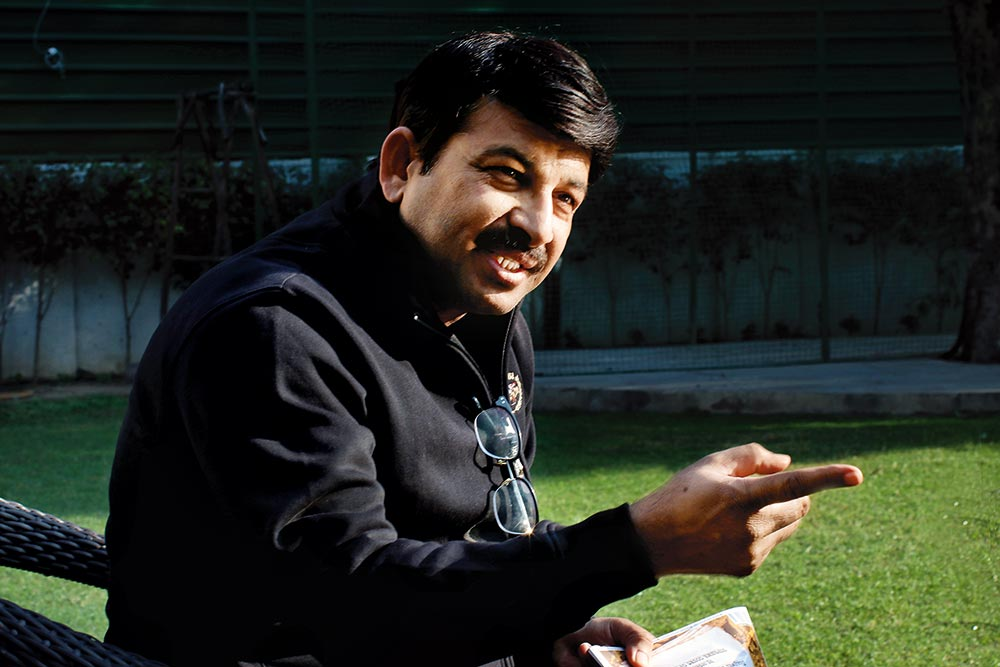 While Delhi Bleeds, AAP Spends On Ads: Manoj Tiwari