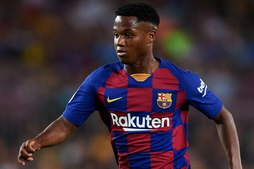 Barcelona Hike Ansu Fati's Release Clause In New Deal
