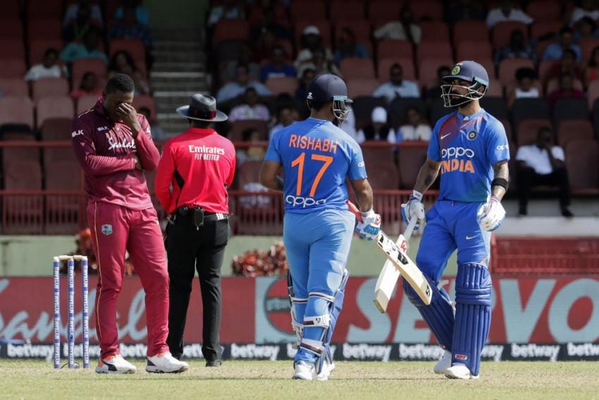 India Vs West Indies, 1st T20I: Virat Kohli Backs Rishabh Pant
