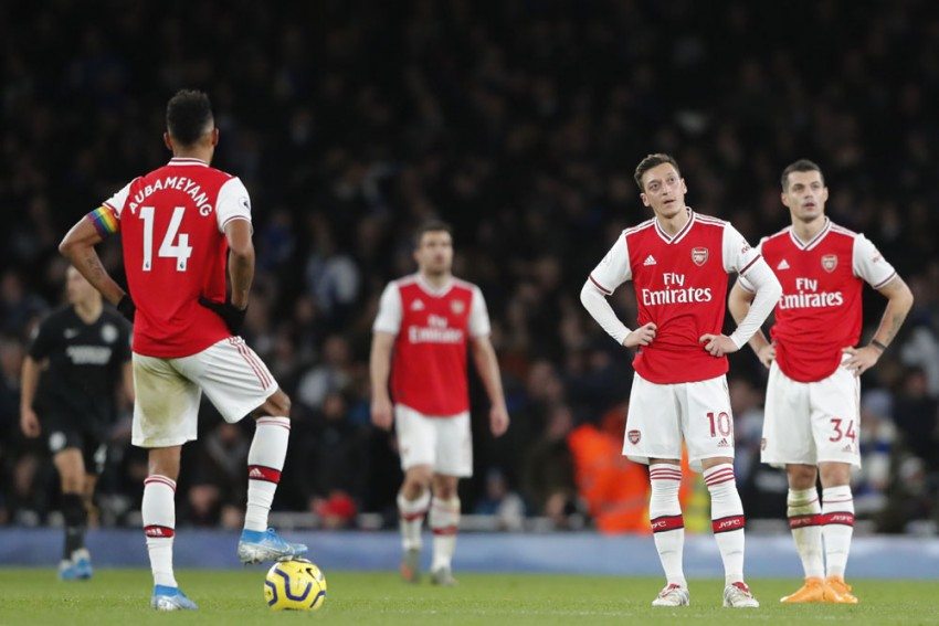 EPL | Arsenal 1-2 Brighton: Neal Maupay Downs Sorry Gunners