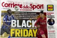 Serie A: AS Roma, Inter Milan Ban Newspaper Corriere Dello Sport Until 2020