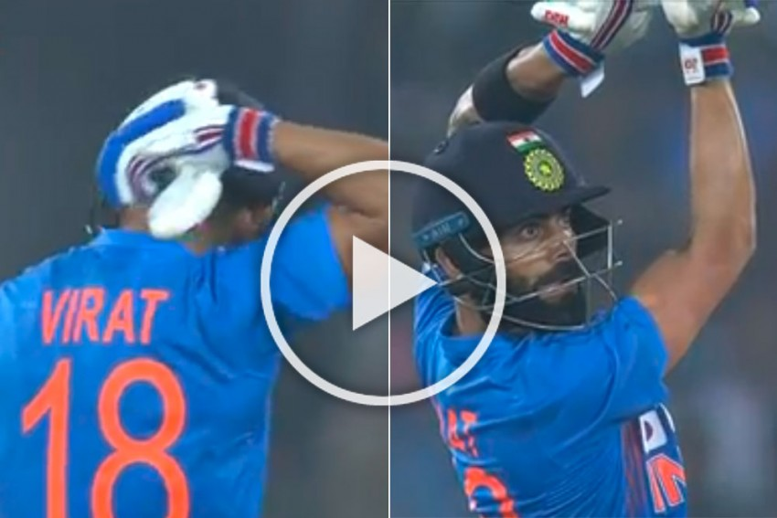 IND Vs WI, 1st T20I: Possessed Virat Kohli Finishes Off Stunning Chase With Magnificent Six - WATCH