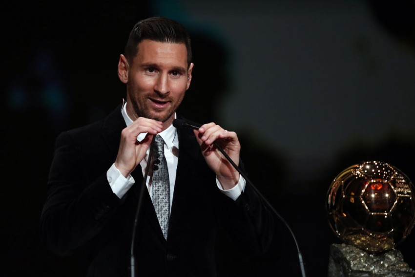 It's A Shame He Finished 4th – Lionel Messi Reveals His Ballon D'Or 'Favourite' Player