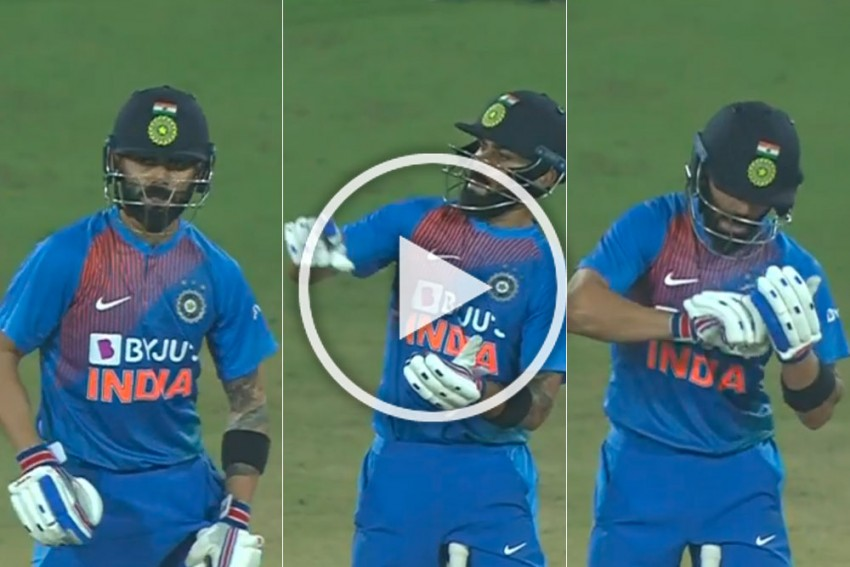 IND Vs WI, 1st T20I: Fired-Up Virat Kolhi's Once In A Lifetime Celebration Thrills Hyderabad Crowd - WATCH