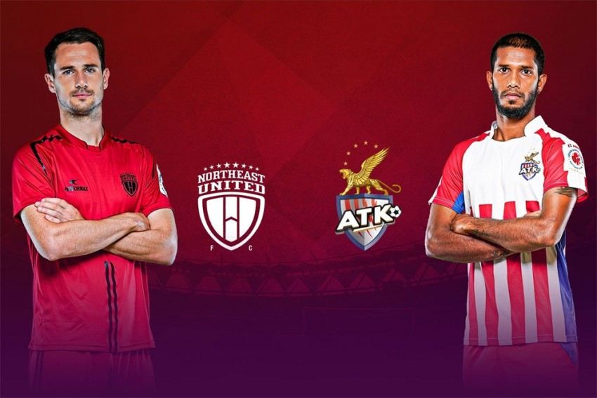 ISL 2019-20, NEU Vs ATK Highlights: Relentless ATK End NorthEast United's Unbeaten Run, Take Top Spot With 3-0 Win