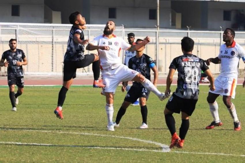 I-League: Juan Mera's Late Equaliser Saves East Bengal Against Punjab FC