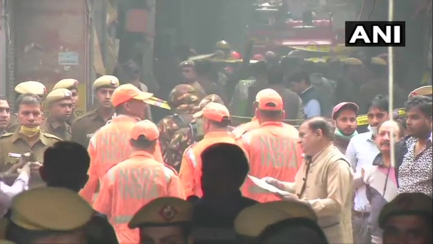 Delhi Fire: Govt Orders Probe, Seeks Report In 7 Days; CM Kejriwal Announces Rs 10 Lakh Compensation To Families Of Those Killed