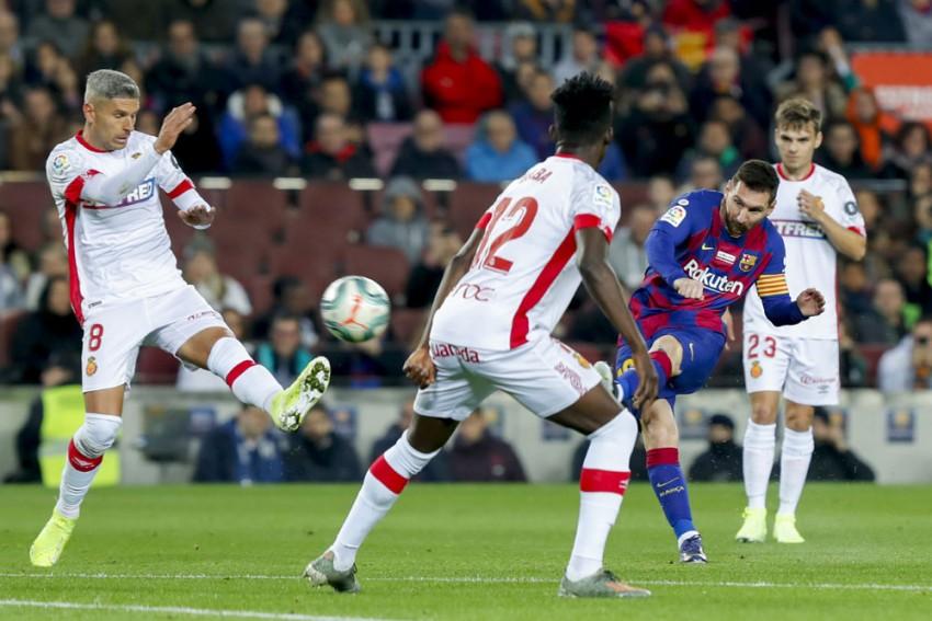 La Liga | Barcelona 5-2 Real Mallorca: Lionel Messi Scores Hat-Trick As Champions Regain Top Spot